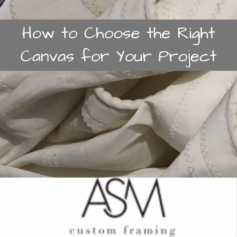 how to choose the right canvas for your project